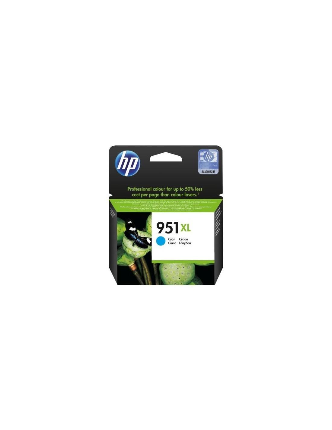 HP Officejet Pro 8100/8600 Cartucho Cian Nº951XL