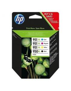 HP Officejet Pro 8100/8600 Cartuchos Pack 4 colores Nº950XL negro/ 951XL colores